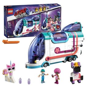 LEGO The Movie 2 Fold-out party bus - 70828