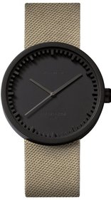 LEFF amsterdam Tube watch zwart D38 black horloge