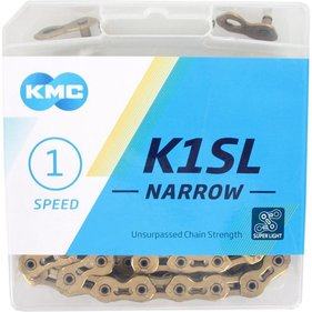 KMC kett K1SL 3/32 narrow gold
