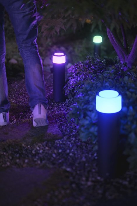 Philips Hue Outdoor Calla large sokkellamp basisunit