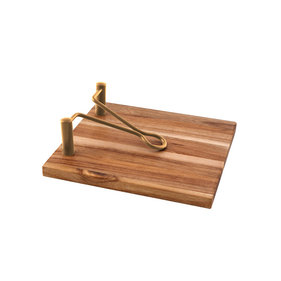 Point-Virgule napkin holder wood