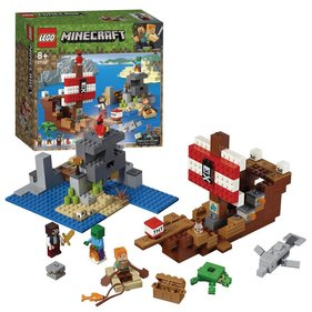 LEGO Minecraft Adventure on the pirate ship - 21152