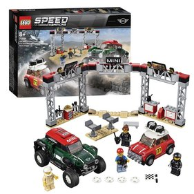 LEGO Speed Champions 1967, Mini Cooper S Rally und MINI John Cooper Works 2018 Buggy-Rennwagen - 75894