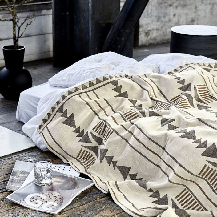 House Doctor Tribe large bedspread