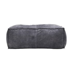 House Doctor Suede large ottoman