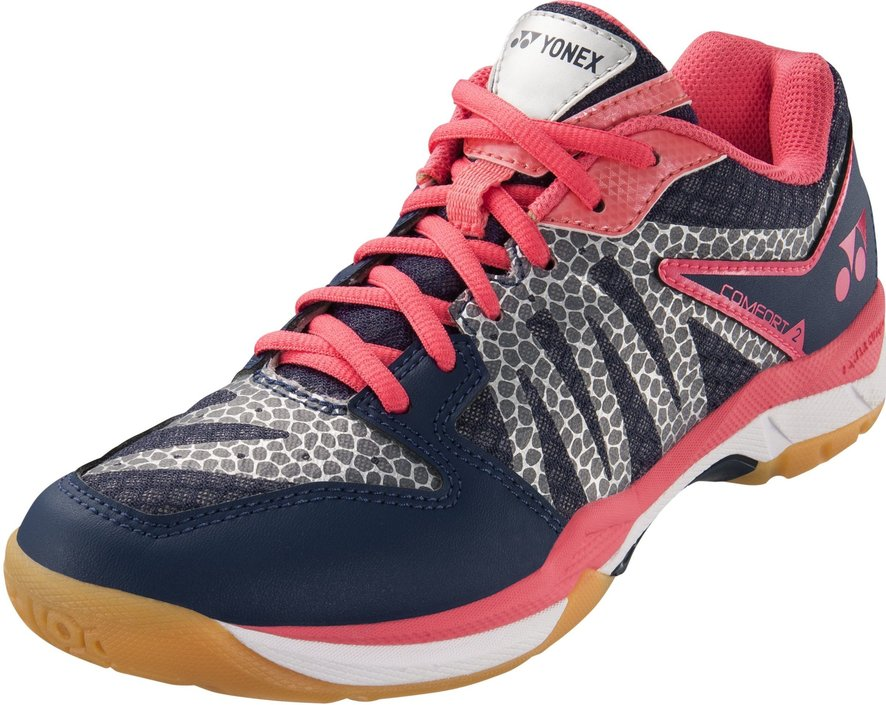 Yonex Power Cushion Comfort 2 navy/roze badmintonschoen