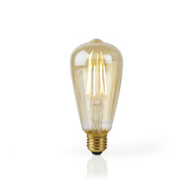 Nedis Wi-Fi Smart LED-Lampe E27 - Gold