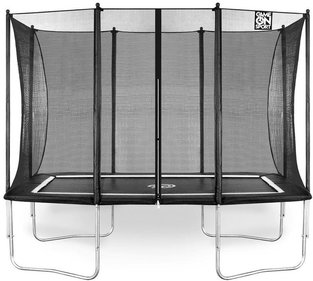 Game On Sport Jump Line trampoline rechthoek 163x215