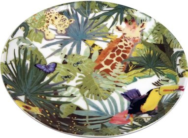 The Zoo Tropical plate