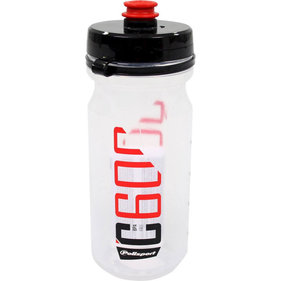 Polisport bidon C600 clear/black/red
