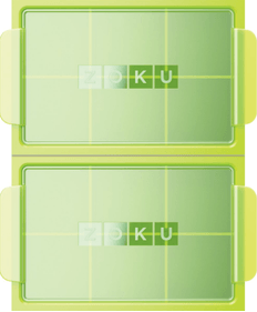 Zoku Jumbo Green ice cube maker - set of 2