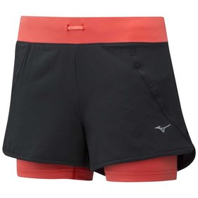 Mizuno Mujin 4.5 2in1 shorts dames