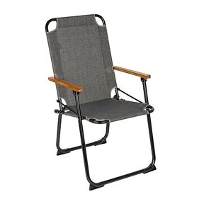 Bo-Camp Urban Outdoor Klappstuhl Brixton grau