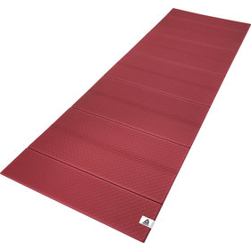Reebok yoga mat Folded 6mm wijnrood