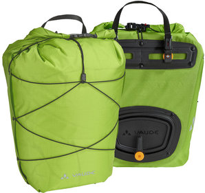 Vaude Aqua Back Light single bicycle bag green