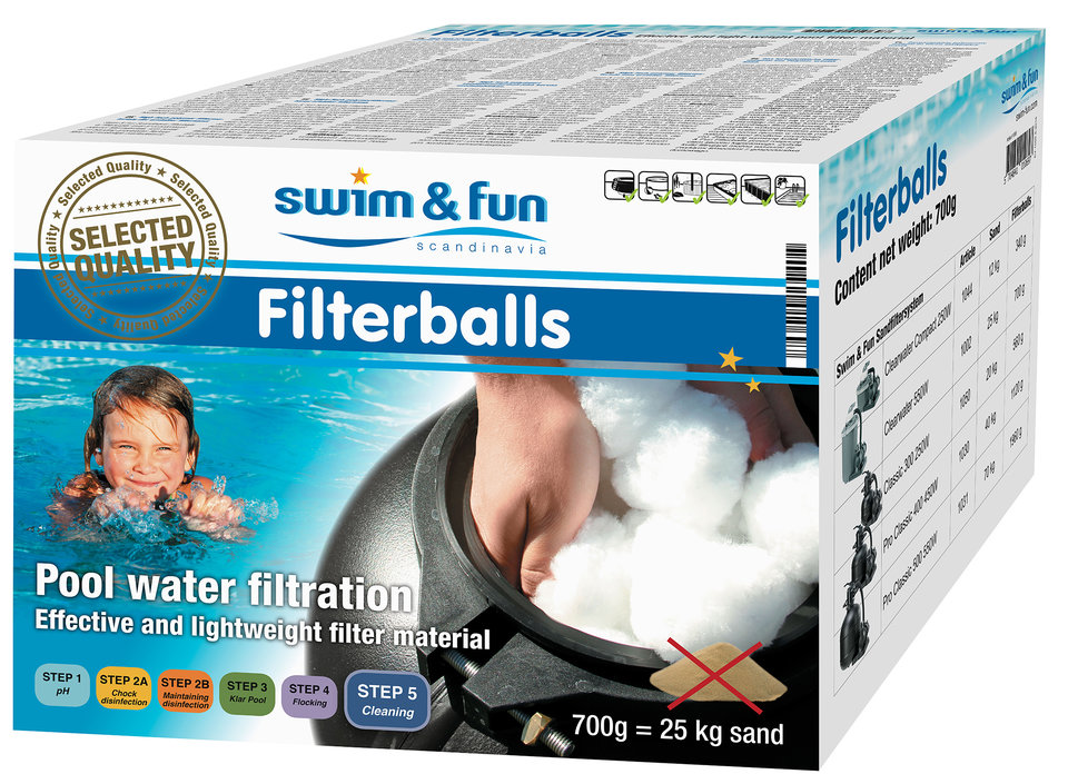 Swim & Fun Filterkugeln