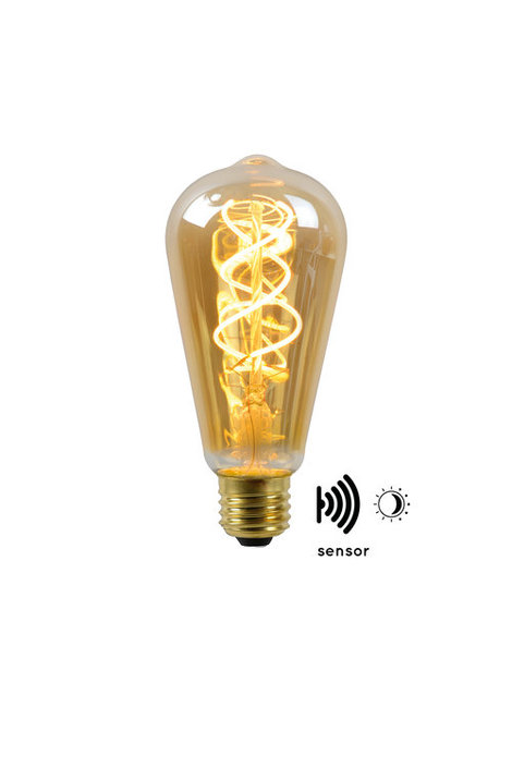 Lucide - LED BULB TWILIGHT SENSOR - Filament lamp - 49034/04