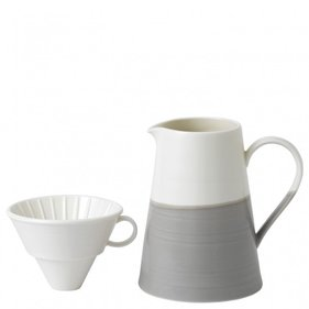Royal Doulton Coffee Studio Dripper & Kan Set - Grijs