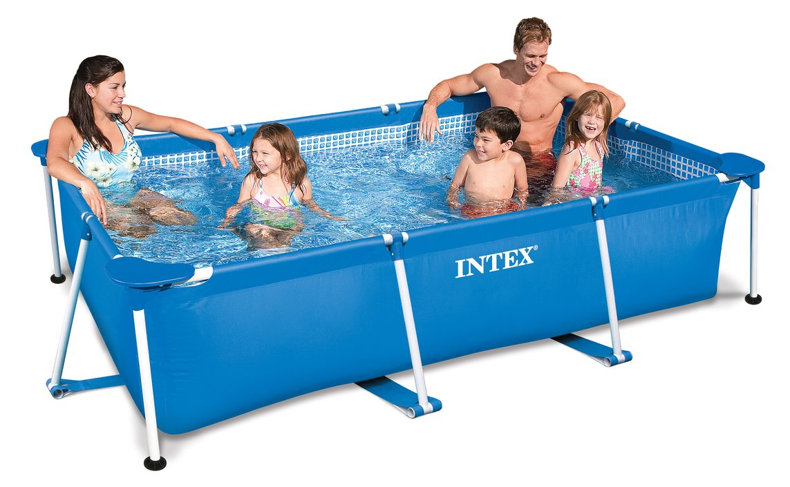 Intex Family Frame Pool 300×200 Aufstellpool