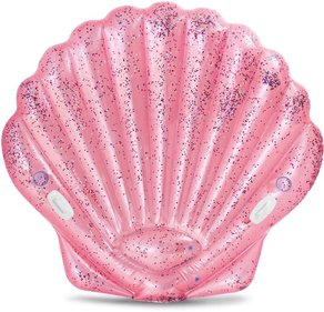 Pink seashell air bed