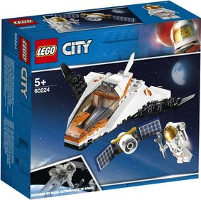 LEGO City Satellitentransportmission - 60224