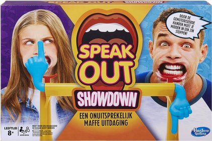 Spel Speak Out Showdown - partyspel
