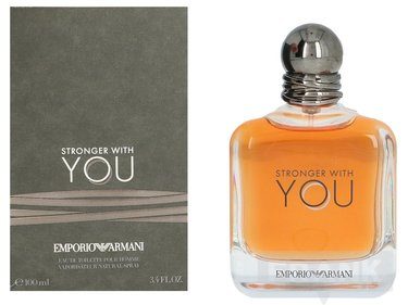Armani Stronger With You Gießen Sie Homme Edt Spray