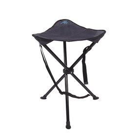 Bo-Camp - 3-beiniger Hocker - Deluxe - Anthrazit - 55 cm