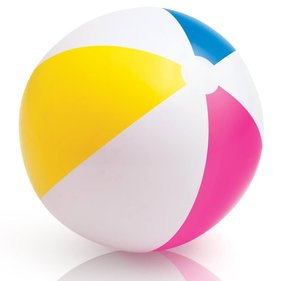 Large beach ball