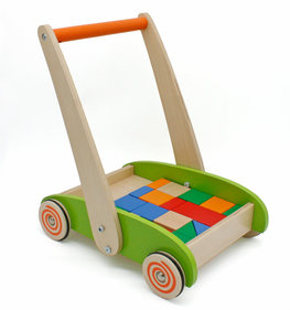 Valetti walker with wooden blocks