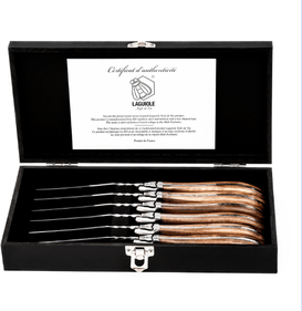 Laguiole Style de Vie Luxury Line steak knives