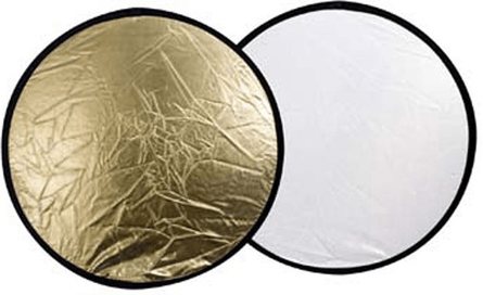Falcon Eyes Reflectiescherm CFR-32G Goud/Wit