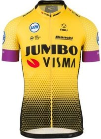 AGU Team Jumbo-Visma Replica Cycling Jersey Men