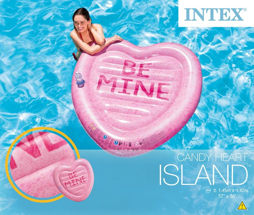 Intex Heart inflatable figure