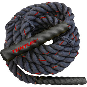 Tunturi Battle Rope - Fitness Rope - Crossfit Rope - Fitness touw - 9 meter
