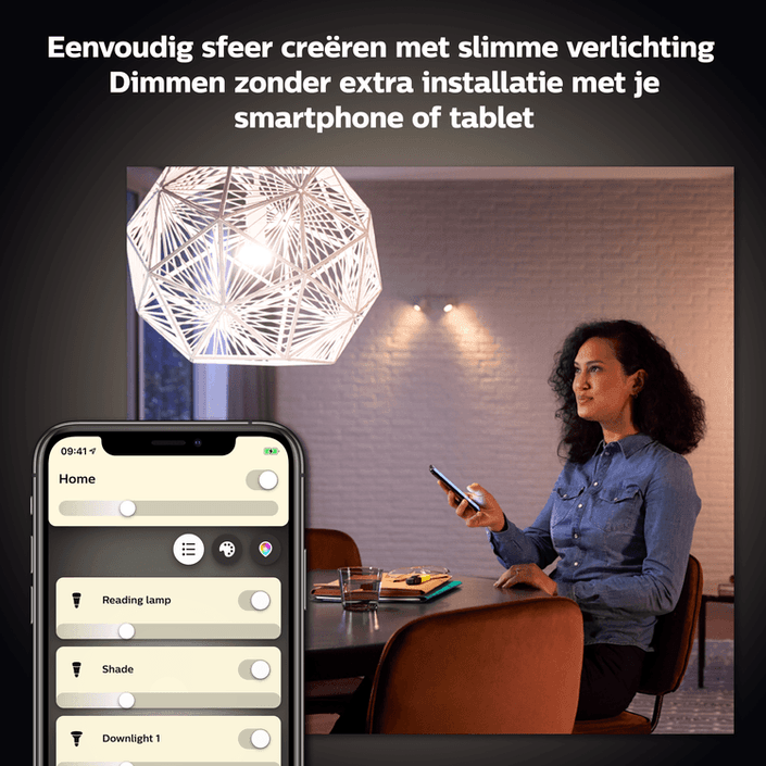 Philips Hue Bluetooth spot - GU10 - warmwit licht - 1-pack