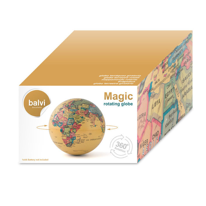 Balvi Magic 360º wereldbol