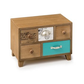 Balvi Bureau wood jewelry box