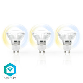 Nedis GU10 Smart LED-Lamp 3-Pack