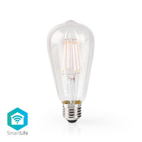 Nedis Wi-Fi E27 Smart LED-Lampe ST64