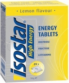 Isostar energy tablets