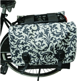 Beck Canvas double bicycle bag