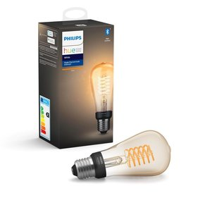 Philips Hue Bluetooth dekorative Edison Lampe - warmweißes Licht