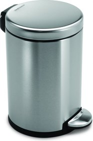 SimpleHuman Mini Round Step Can 6 Liter