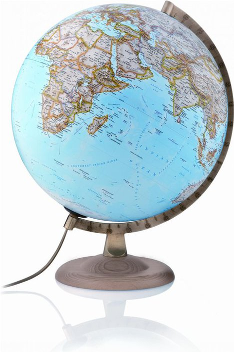 National Geographic Gold Globe