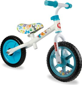 Fisher-Price - loopfiets met ratelwiel