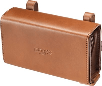 Borsa da sella a forma di D Brooks