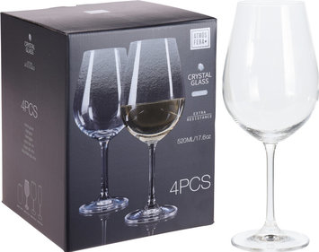 Valetti wine glass crystal for white wine - set of 4