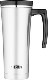 Thermos Isoliertrinkbecher Travel Mug Sipp, Silber, 0.5 Liter, 1902390