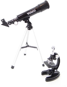 Valetti Junior Telescope & Microscope set